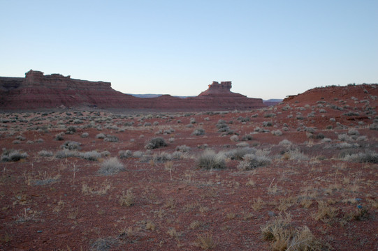 Near Monument Valley, probably along Highway 163.