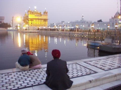 The Golden Temple, Amritsar.