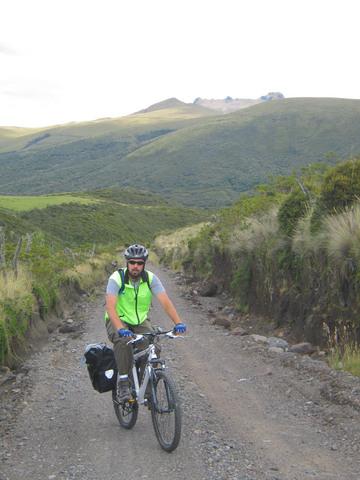 Biking uphill at 11,500 feet is, generally speaking, not easy.