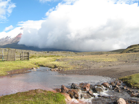 The entrance to Tambopaxi.