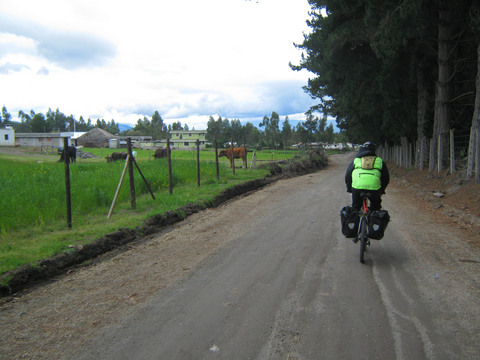 Heading out of Cotopaxi National Park and towards the Quilotoa Loop to the south.