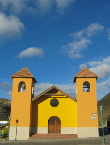 Church in Zumbahua.