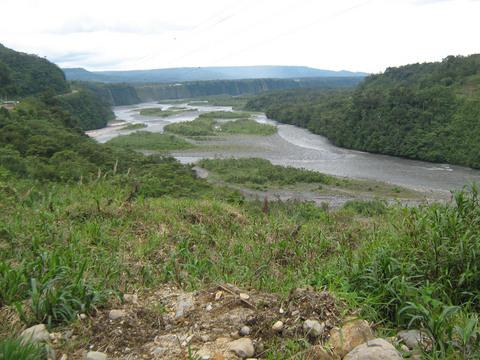 Rio Pastaza.