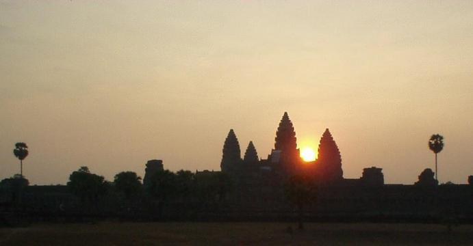 Angkor Wat, at sunrise.