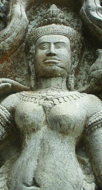 Luscious Khmer babe.