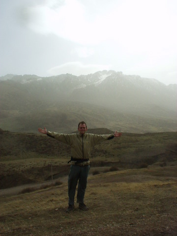 Me on a hillside in Sichuan.