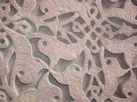 Detail of the Quwwat-ul-Islam Masjid.
