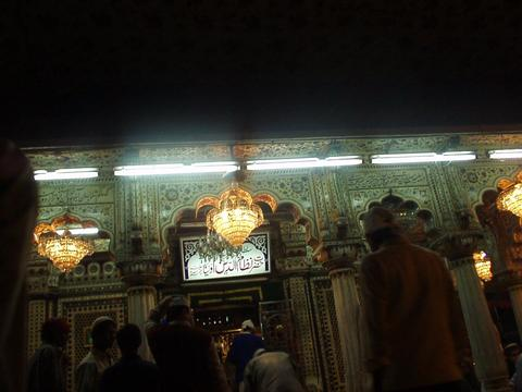 The Shrine of Nizam-ud-din, Sufi mystic.