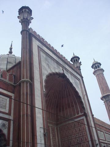 The Jama Masjid, Delhi.