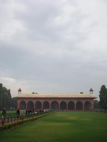 The Diwan-i-Am of the Red Fort.