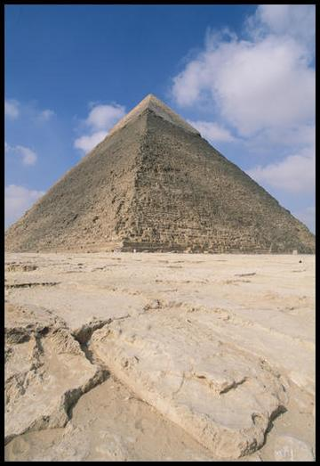 Khafre, Giza Plateau, Cairo.