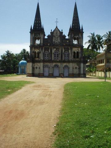 Santa Cruz Basilica, Fort Cochin, Kerala.