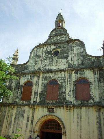 The Santa Cruz Cathedral, Fort Cochin, Kerala