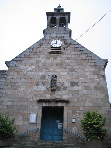 Church in St. Pol-de-Leon, near where my boat landed in Roscoff, Bretagne.
