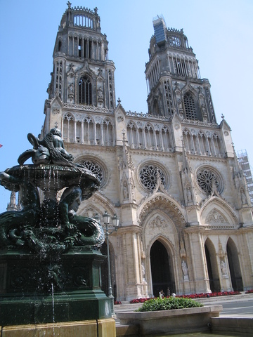 The Cathedral of Orléans.
