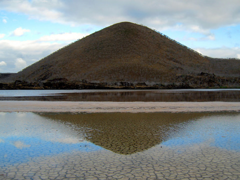 Lagoon at Point Cormorant, Floreana Island.