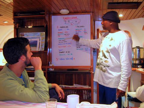 Briefing for day 2, Isla Espanola and Isla Lobos.