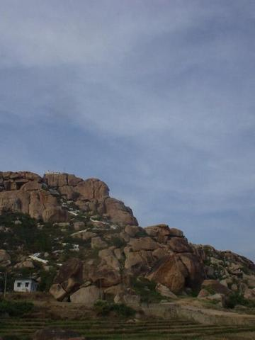The Hanuman Temple, Hampi.