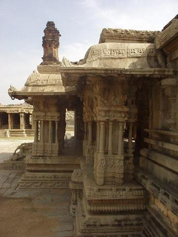 The Vittala Temple, Hampi.