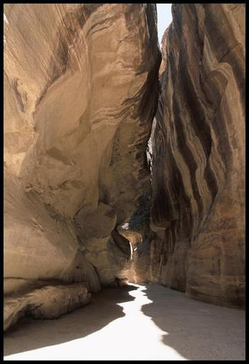 The Siq, Petra.