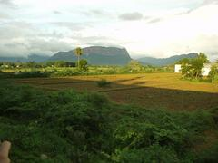 View out of the Kanyakumari Express, around Southern Andhra Pradesh