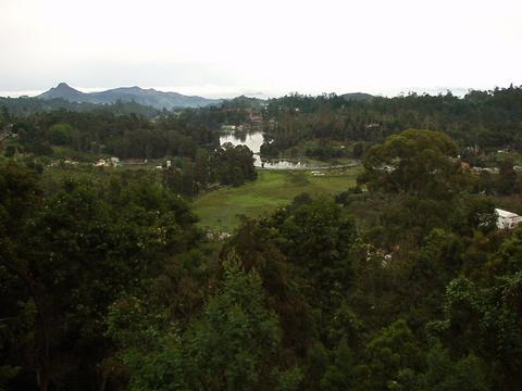 View from Coaker's walk, Kodaikanal.