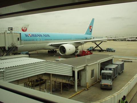 Korean Air plane