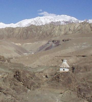 Burial stupa, Alchi.