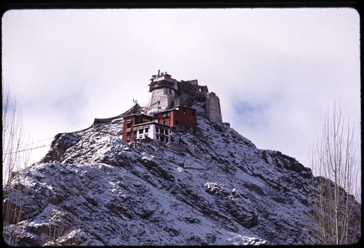 The gompa of Leh.