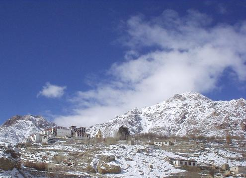 The Likir gompa.