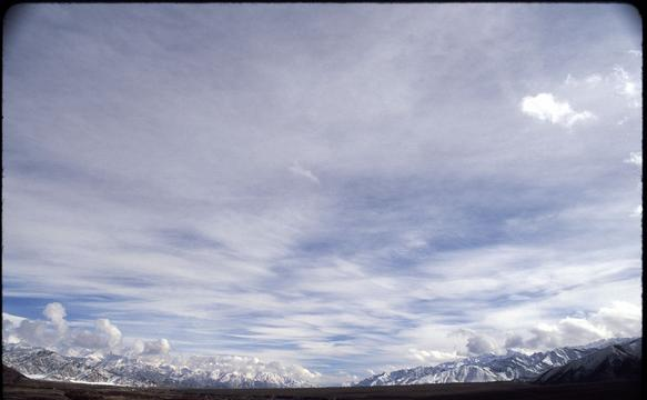 The sky above the Spituk Monastery, near Leh.
