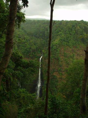 Waterfall at Tad Fane resort, Champasak province.