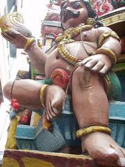 Dravidian temple sculpture, Madurai.
