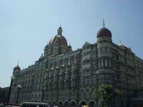 The Taj Mahal Hotel.