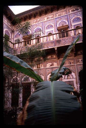 A restored havleli in Fatehpur, Rajasthan.