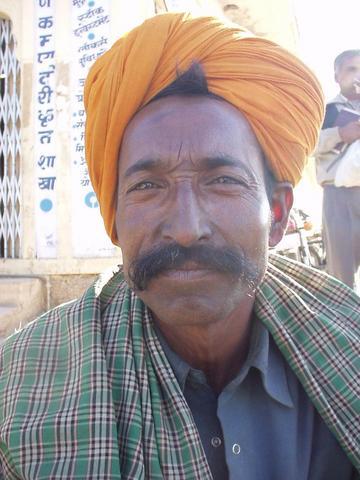 Rajasthani man.