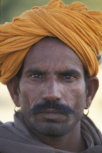 Man in Jaisalmer, Rajasthan.