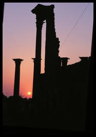 bosra_pillars_sunset
